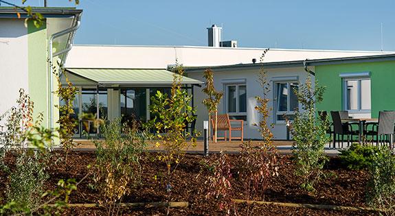 Das Haus :<br>Seniorenheim Rhönblick